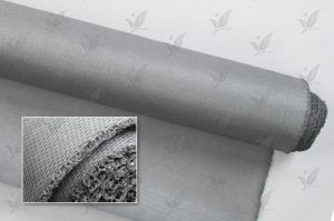 Silicone Rubber Coated Fiberglass Fabric Gray pictures & photos