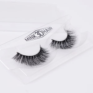 3D Luxury 100% Natural Mink Hair Lashes Realistic Thick Super Soft False Eyelashes pictures & photos
