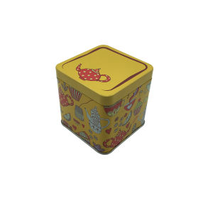 Tea Tin Box Metal Tin Can Airtight Lid Tea Packaging Box Custom Printing pictures & photos