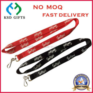 Wholesale Promotional Screen Printing Lanyard with Double Swivel Hook pictures & photos