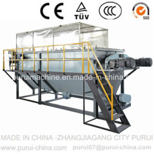 Waste PP Jumbo Bag Recycling Washing Machine with Side Force Feeder Pelletizer pictures & photos