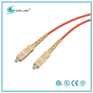 SC/PC-SC/PC mm 62.5/125 Simplex 2m Fo Patch Cord pictures & photos