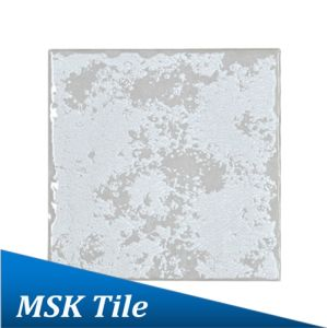 100X100mm White Gloss Rustic Glazed Porcelain Tile pictures & photos