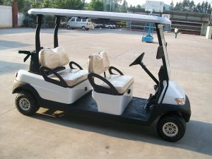 New High Quality 4 Seater Cheap Golf Buggy pictures & photos