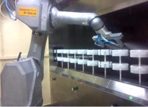 Painting Room in Faunc Robot Automatic Spray Painting Shop pictures & photos