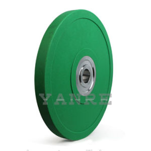 Gym Crossfit Training Weightlifting Olympic PU Bumper Plates Weight Plate pictures & photos