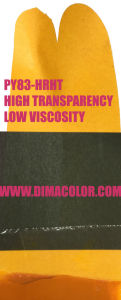 Organic Pigment Yellow 83 (permanent yellow HR-HT) for Gravure Ink, High Transparency pictures & photos