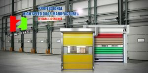 Roll up Door Bottome Seal High Speed Door (Hz-FC0241) pictures & photos