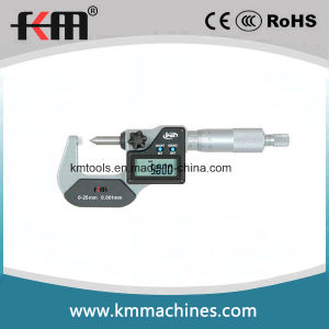 0~25mm Digital Single Point Micrometers with 0.001mm Graduation pictures & photos