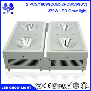LED Plant Grow Light, Zeus Series 370W 2PCS/180W (COB) Full Spectrum LED Grow Lights for Indoor Plants. pictures & photos