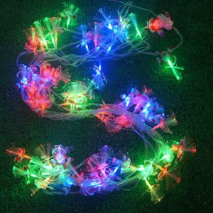 String Light with Fiber Flower for Decoration pictures & photos