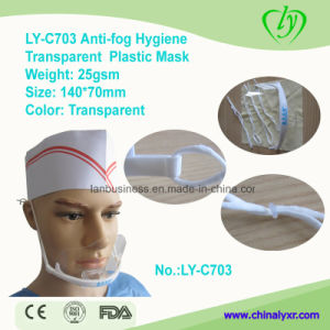 Ly-C703 Anti-Fog Hygiene Plastic Transparent Mask pictures & photos