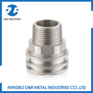 External Thread Brass Pipe Fitting Male Thread pictures & photos