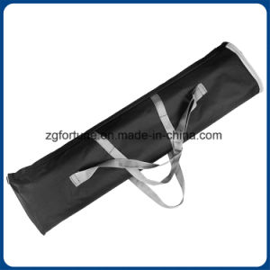 Double Sides Plastic Steel Roll up Stand Square Basement pictures & photos