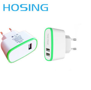 5V 2.4A Smart Travel USB Portable Mobile Phone Charger pictures & photos