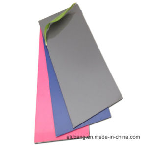 Variou Colors (PVDF) Aluminum Composite Panel (ALB-016) pictures & photos
