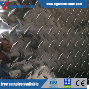 Skid-Proof Aluminum Checkered Plate (1050, 1060, 3003, 5052) pictures & photos