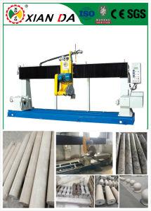 Long Solid Column Pillar Cut& Cutting Machine / Pillar Stone Machine/Stone Processing Machine pictures & photos