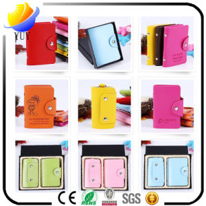 Economic Fashion Customized Leather Card Holder pictures & photos