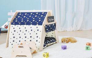 Cotton Canvas Dog House Pet Dome Tent, Pet Tent pictures & photos