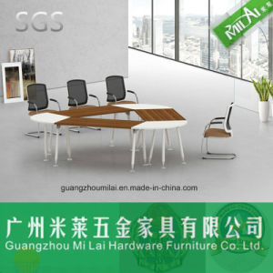 High Quality Wood & Metal Popular Office Meeting Table pictures & photos