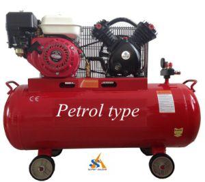 Portable 6.5HP Gasoline Piston Air Compressor pictures & photos