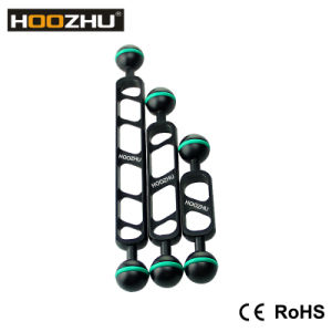 New Hoozhu S90 9inch Double Ball Head Support for Diving Camera &Diving Video Light pictures & photos