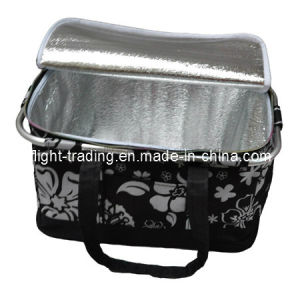 Polyester Cooler Basket with Aluminum Pipe Frame Handles pictures & photos