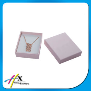 Hot-Selling Personalized Paper Jewelry Box with Lid pictures & photos