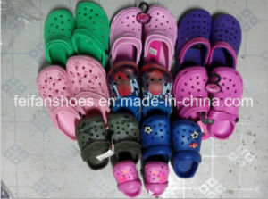 Newest Cheap Price Stocks Garden Shoes for Wholesale (FFSS0413-01) pictures & photos
