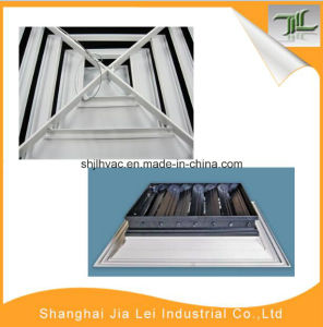 White Color Ceiling Aluminum 4 Way Return Air Diffuser pictures & photos
