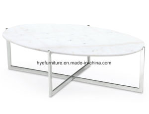New Design Marble Coffee Table Living Room Marble Furniture (MS300) pictures & photos