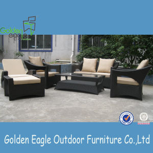 Aluminum Frame Rattan Furniture Italian Design Sofa