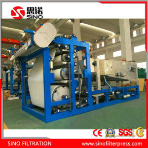 China Belt Filter Press Machine for Sludge Dewatering pictures & photos