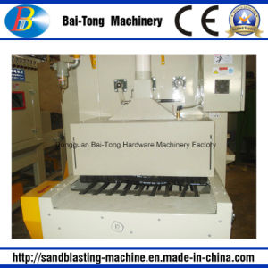 Belt Conveyer Automatic Sandblasting Machine for Mobilephone Shell pictures & photos