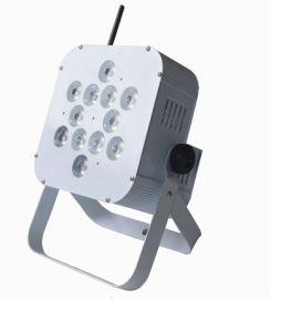 Rechargeable 12PCS Rgbwauv DMX LED Wireless Battery Powered PAR Light pictures & photos