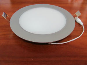 Ultra-Slim Round LED Panel Light 24W pictures & photos