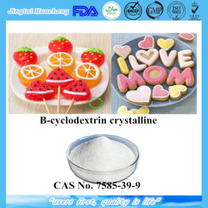 B-Cyclodextrin Crystalline CAS: 7585-39-9 with Factory Price pictures & photos