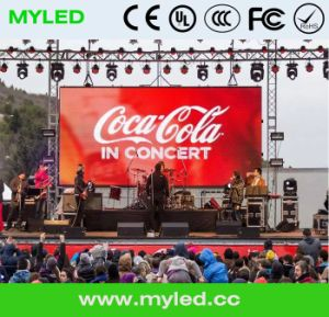 Outdoor Rental LED Display Screen/SMD Outdoor/6.25mm pictures & photos