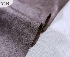 2017 Brown Suede Fabrics Sofa Fabric Price Per Meter pictures & photos