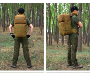 Military Oxfors Cloth Water-Proof European Multicam Tactical Hiking Shoulder Camping Backpack pictures & photos
