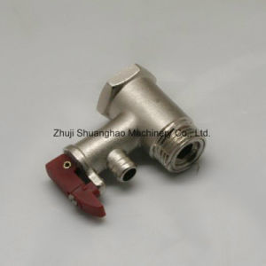 Custom Brass Valve Safety Valve for Electric Water Heater pictures & photos