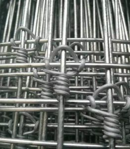 Galvanised Hinged Joint Cattle Fence pictures & photos