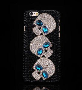 Skeleton Diamond Phone Case for Apple iPhone 5 5s 5c 6 6 Plus 7 7plus Back Cover pictures & photos