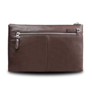 Men Business Envelope Clutch Bag Genuine Leather Cowhide Wristlet Bags pictures & photos
