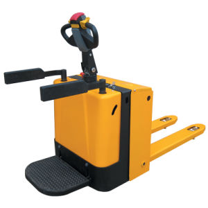 Electric Powered Pallet Truck 2000kg Capacity pictures & photos