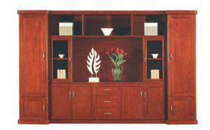 Veneer Glossy Filing Cabinet /Office Cabinet /Bookcase (NS-SL140) pictures & photos