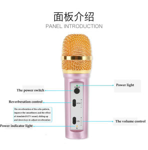 K8 Universal K Sing Live Android Mobile Phone Microphone Apple Condenser Microphone pictures & photos