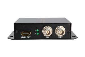 HD Sdi-HDMI Fiber Optical Converter/Transmitter pictures & photos