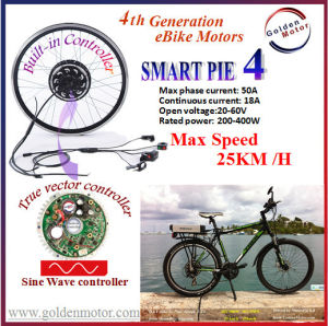 Smart Pie 5 Electric Bicycle Conversion Kit/BLDC Motor/ Hub Motor/ Built in Sine Wave Controller pictures & photos